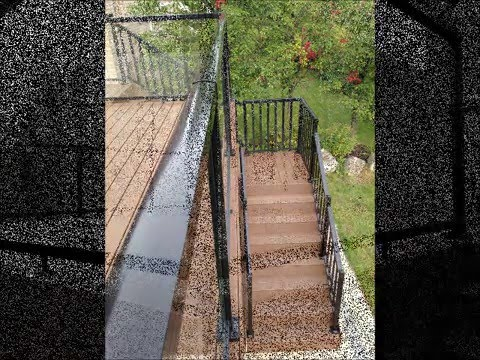 How to build a composite deck with Trex rainscape system