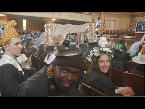 Yale Class Day 2018 - aka Silly Hat Day