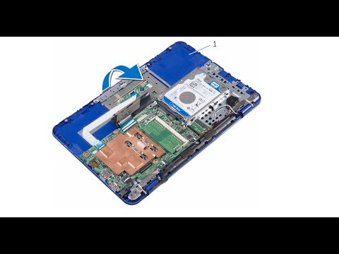 How to disassemble Dell Inspiron 11 -3162 , 3164