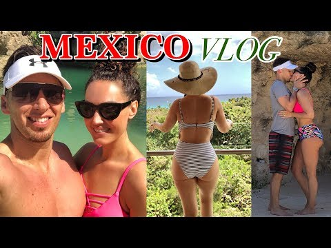 MEXICO VACATION VLOG - HOTEL XCARET | THE GLAM BELLE