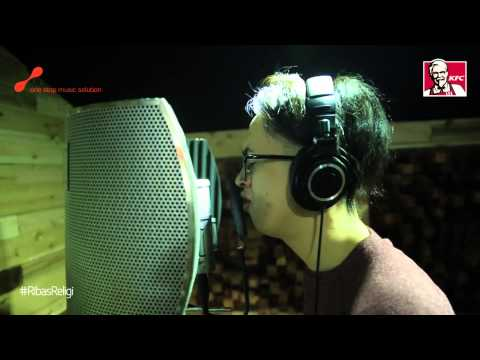 Behind the recording Rija Abbas