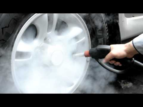 Steam Cleaning: Car Rims and Wheels