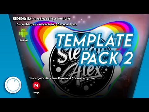 Avee Player | Download now 2 Template pack