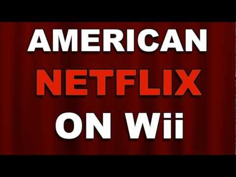 How To Get American Netflix in Canada Wii
