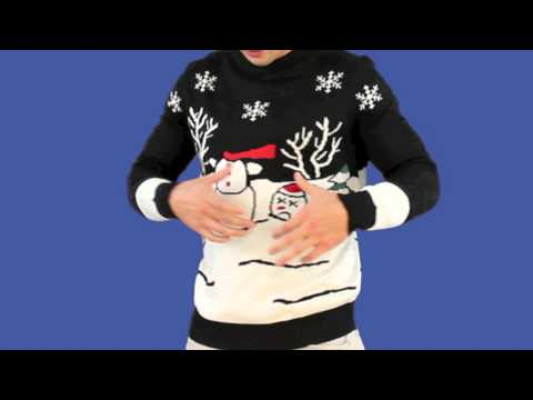 Ugly Christmas Sweater - Headless Snowman Sweater by Tipsy Elves 1