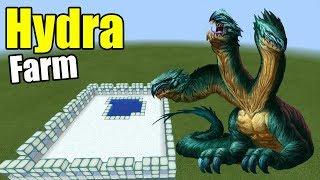 How to Make a HYDRA FARM | Minecraft PE