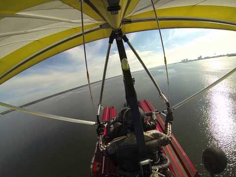 Sport Pilot Flight Training in an amphibious trike