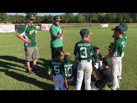 Crazy Little League Coaches Announcing the Lineup