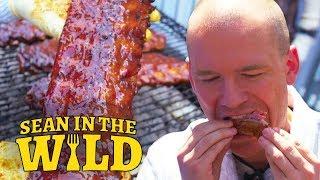 Download Sean Evans Samples America's Best Barbecue | Sean in the Wild Video