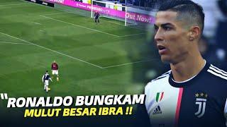 """""""LANGSUNG TEPUK TANGAN"""" Inilah Hari Dimana Zlatan Ibrahimovic Tau Siapa Ronaldo Sesungguhnya !!"""