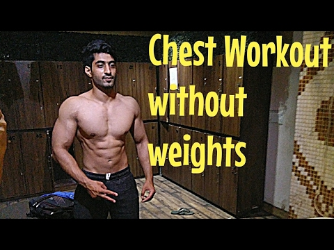 How to Build your Chest at Home without equipments - Exercises to build chest at home