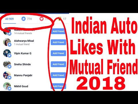 Indian Auto Likes With Mutual Friend