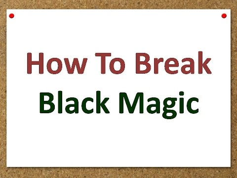 Method to get rid from Effects of Black magic in few mintues