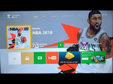 How To Gameshare On The 2018 Xbox One UI Update (Fast And Easy)
