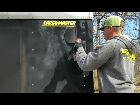 Enclosed Trailer Vent Install