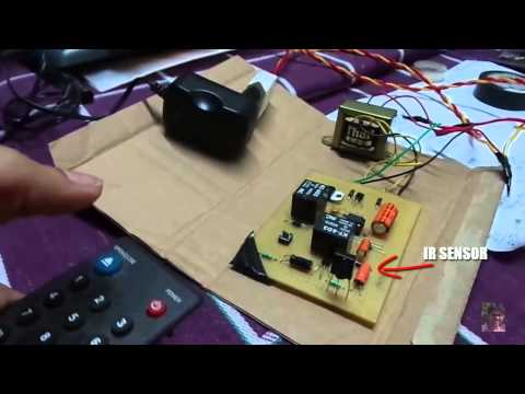 Simple IR Remote controlled Switch - All can make