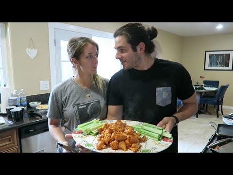 J&J's Kitchen: Cauliflower Buffalo Bites