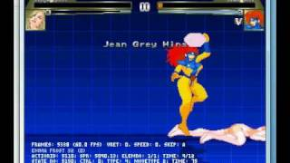 M.U.G.E.N. Emma Frost vs. Jean Grey