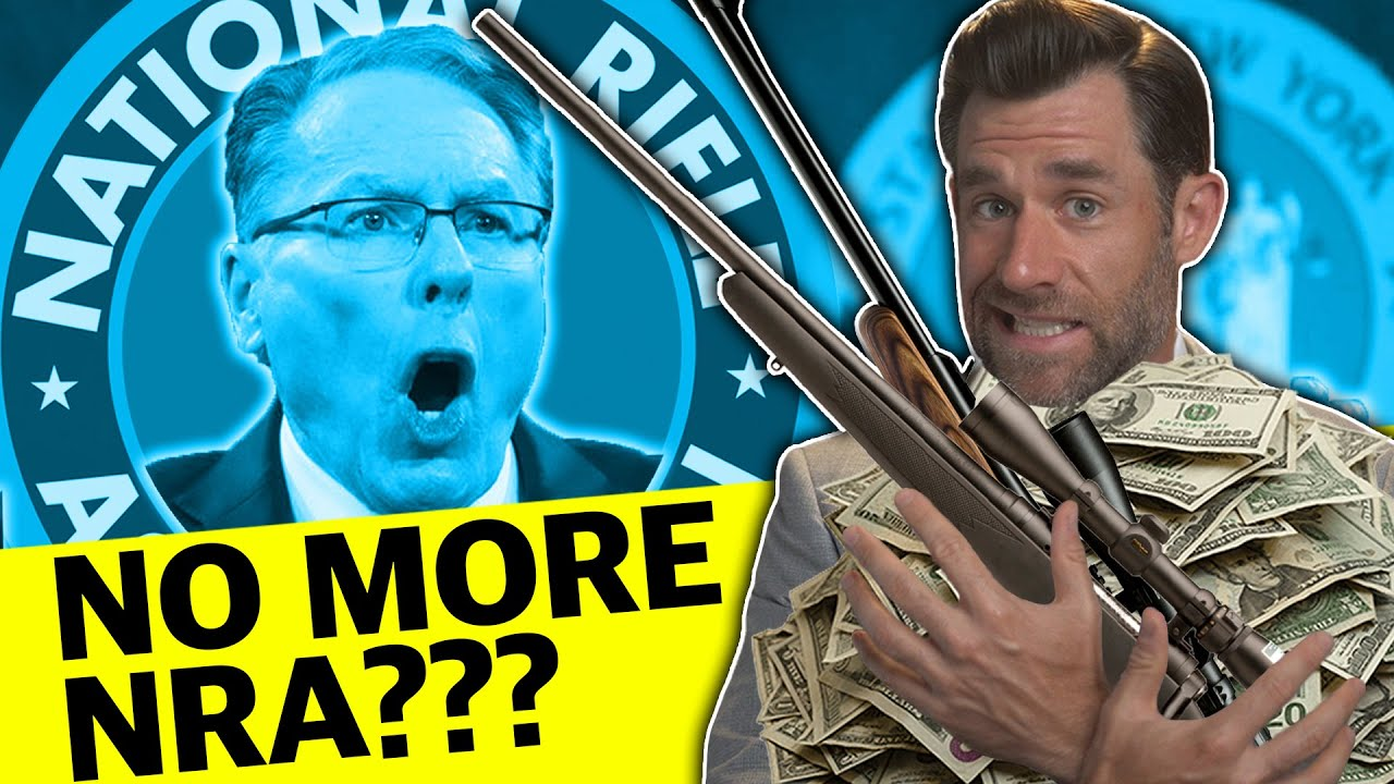 Is the NRA Being Sued Out of Existence? | LegalEagle's Real Law Review