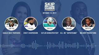 UNDISPUTED Audio Podcast (10.13.17) with Skip Bayless, Shannon Sharpe, Joy Taylor | UNDISPUTED