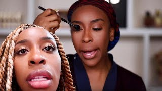 I'm DITCHING WIGS! Spend the Day & Get Glam With Me   Jackie Aina