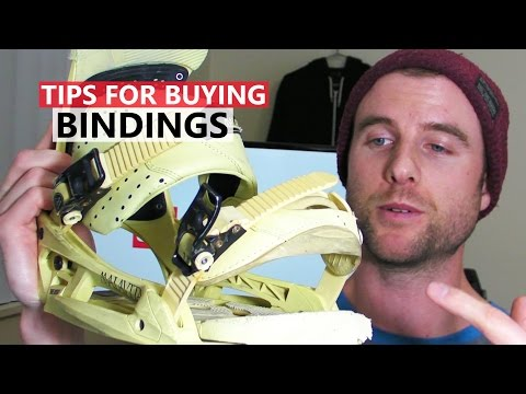 Tips for Buying Snowboard Bindings - Snowboarding Gear
