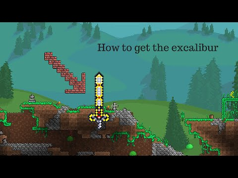 How to get the excalibur | Terraria