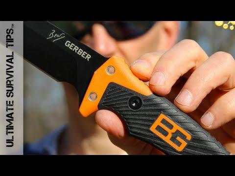 Gerber Bear Grylls Ultimate PRO Survival Knife - REVIEW - Best Gerber Survival Knife? 31-001901