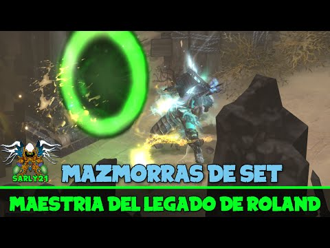 Diablo 3 - Maestrías y lugar del Set del Legado de Roland