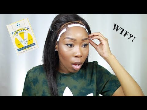 WTF?! WHAT THEY DON'T TELL YOU: LACE FRONT WIG TAPE FT. PREMIUM LACE WIG