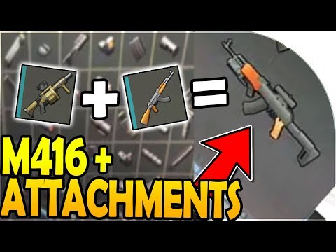NEW M416 + ATTACHMENTS (GRENADE LAUNCHER) in WEAPON UPDATE - Last Day On Earth Survival Update 1.8.5