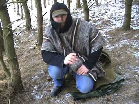 Two blanket bedroll - sleeping bag.MPG