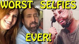 The 20 Worst Selfies of All Time! #8