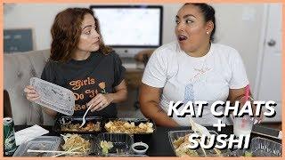 EAT WITH US - Q+A W/ Emilia | KAT CHATS