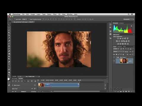 Photoshop tutorial: Editing a video clip and adding type | lynda.com