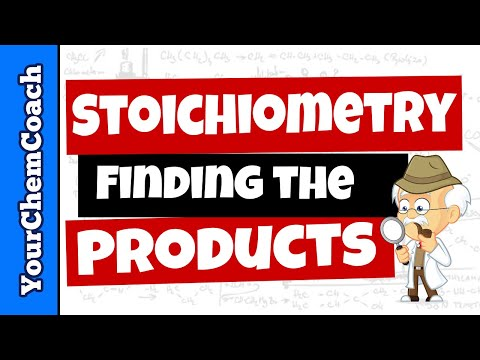 Stoichiometry Practice Finding Products