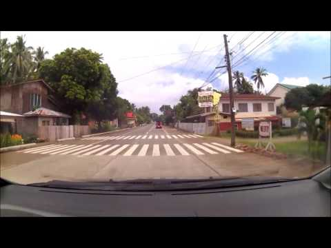 Driving Once Around Camiguin Island Philippines 2017 Part 1