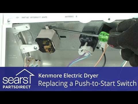 How to Replace a Kenmore Electric Dryer Push-to-Start Switch