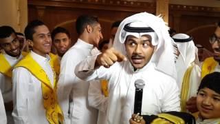 الشاعر محمد الدباب يوصي زوج اخته في ليلة الزفاف