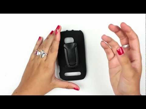 Body Glove Lumia 710 Snap-On Shell & Holster Video Review