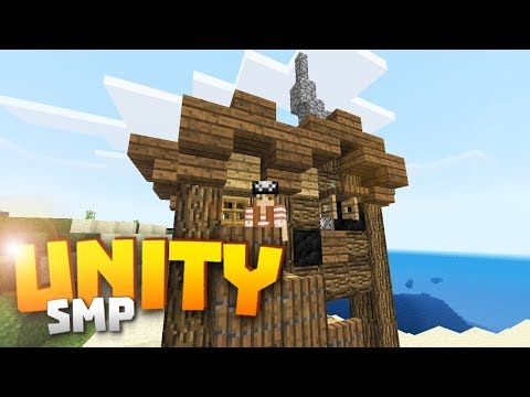 Minecraft Realms! - Unity SMP S2 Ep. 9 - A PIRATE'S SHACK!