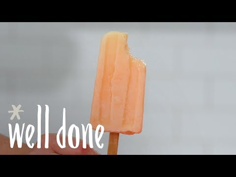 How To Make Easy Homemade Dreamsicles | Recipe | Well Done