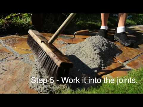 Easiest DIY Flagstone Pathway Fix with Romex Rompox EASY!