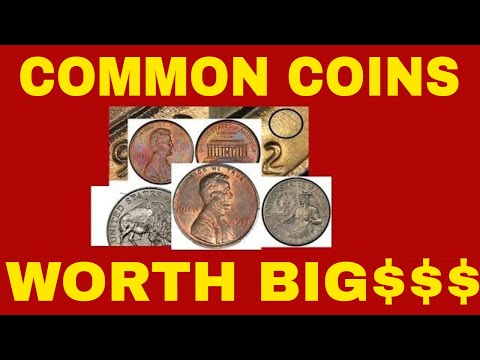 5 RARE PENNIES WORTH MONEY FROM THE 70'S! PENNIES TO LOOK FOR IN