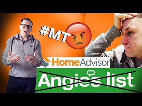 Angie's list Scam Alert: Home advisor making changes!