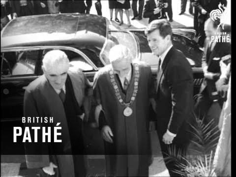 Edward Kennedy Pays Visit To Ireland (1964)