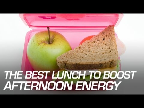 The Best Lunch to Boost Afternoon Energy