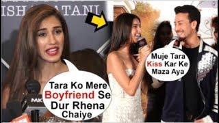 Download Disha Patani UPSET With Boyfriend Tiger Shroff For FLIRTING With Tara Sutaria Video