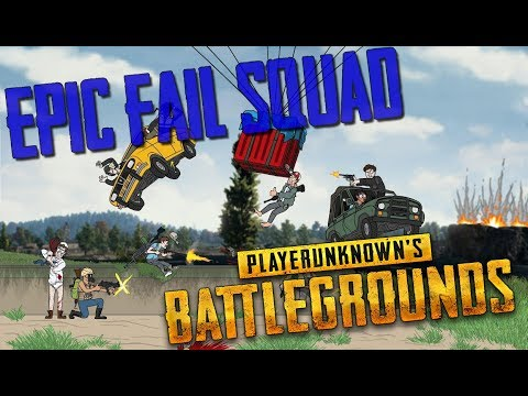 PUBG - EPIC FAIL SQUAD [YOU COULDN'T DO THIS EVEN IF YOU TRIED]
