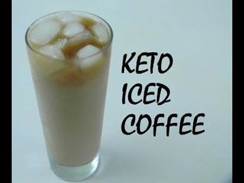 KETO ICED COFFEE | Keto Recipes | The Ultimate Keto Iced Coffee | Fitness Food Connect